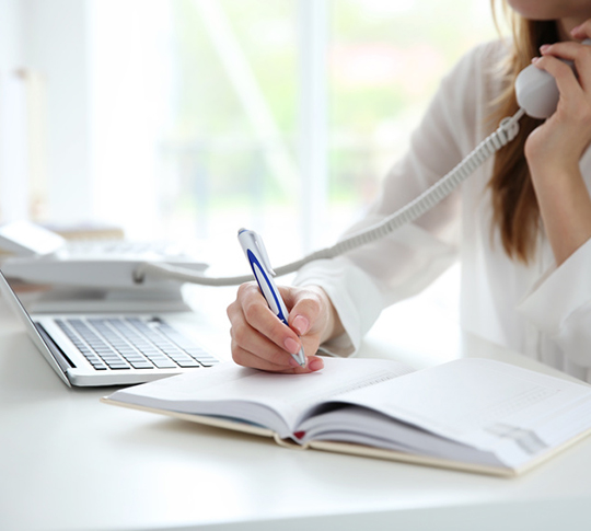 Telefontraining für Selbstständige